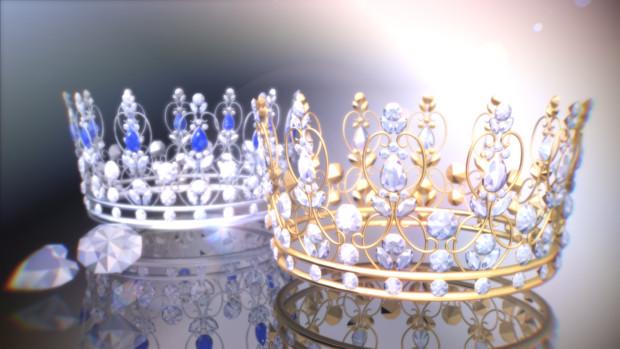 宝石の王冠【MMDアクセサリ配布】