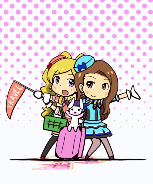 ミリシタGIFアニメ『little trip around the world』