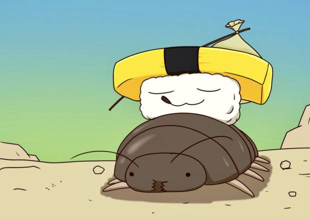 ビッグローチライダー玉子寿司くん