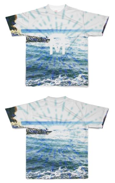 Tシャツ フルグラフィック ターゲットMビーチ