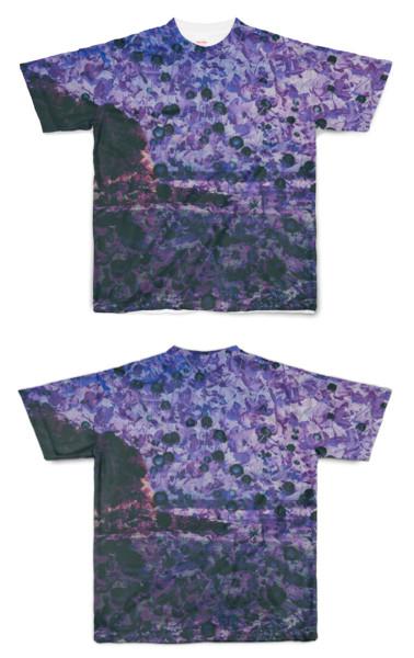 Tシャツ フルグラフィック コーラルビーチ