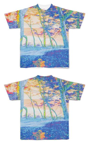 Tシャツ フルグラフィック 32Bitデジタル世界
