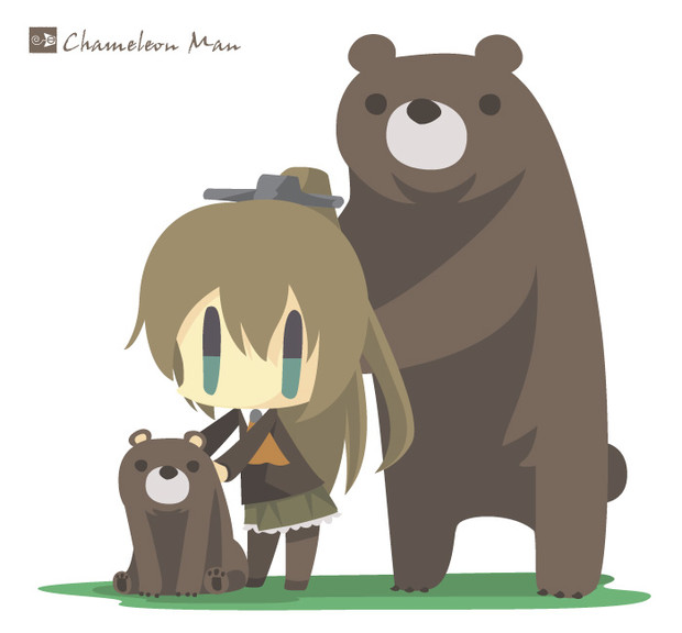 熊野と見ていた
