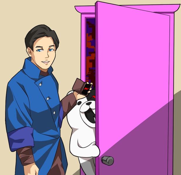 どこでもドアじゃん Miyabi さんのイラスト ニコニコ静画 イラスト