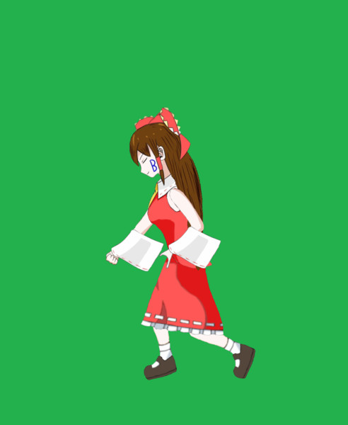 ピッチング孔明姉貴GIF