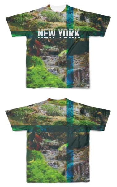 Tシャツ フルグラフィック 萌NEW YORK