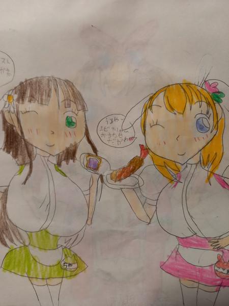 アンミラ心愛さんとアンミラ千夜ちゃんが名古屋名物をお届け!