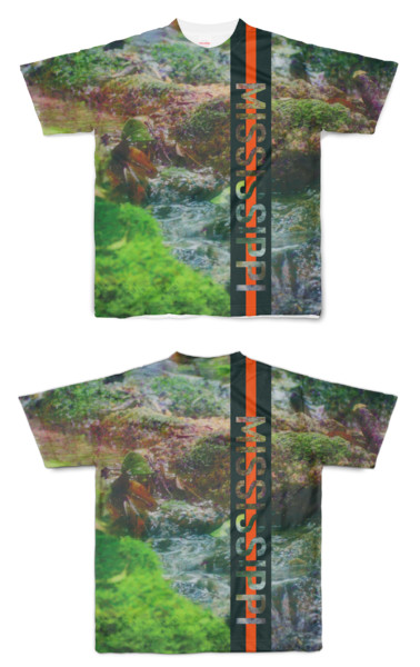 Tシャツ フルグラフィック MISSISSIPPI山