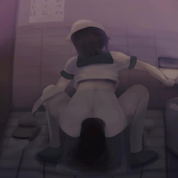 材料屋さんのトイレ