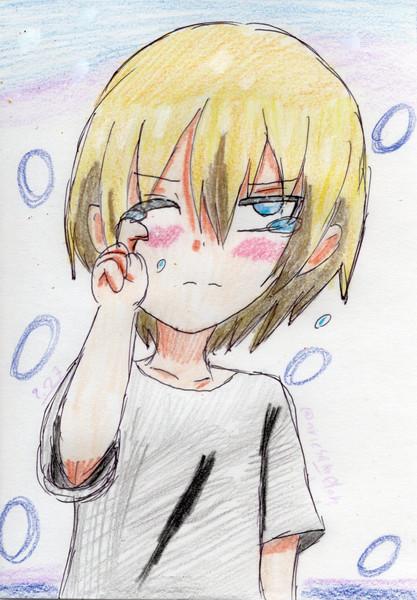 騎士王だって涙したいときはある。