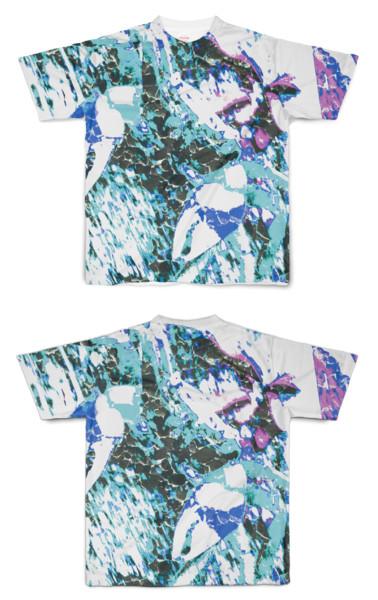 Tシャツ フルグラフィック カニサワー
