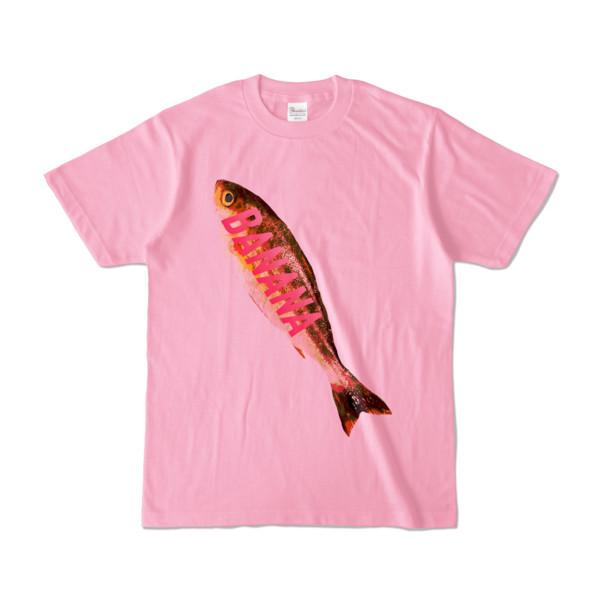 Tシャツ ピーチ BANANA_SAKANA