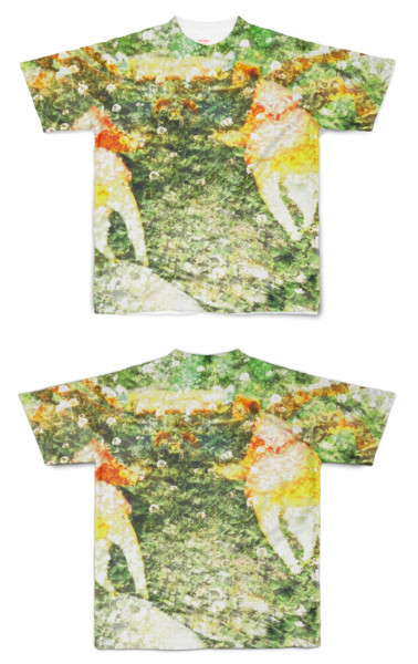 Tシャツ フルグラフィック 悠久のカニ