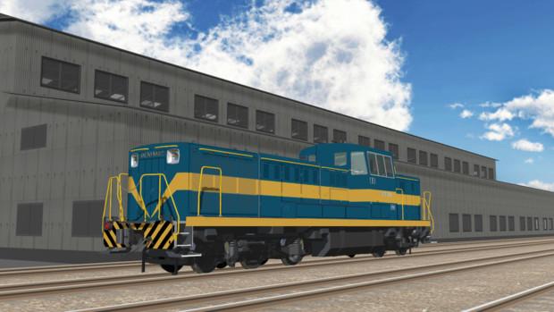 【モデル配布】DE10 1082綺麗なバージョン追加【MMD鉄道】