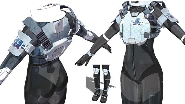 LP-Y800モデル宇宙服改造進捗その2