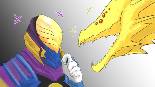 虚空怪獣と虚空の王