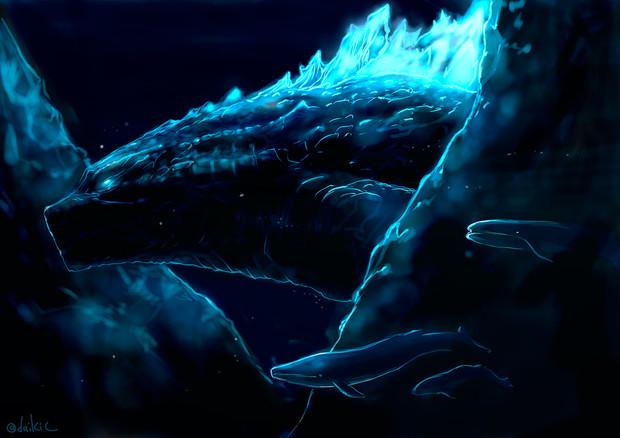 海底を往く王