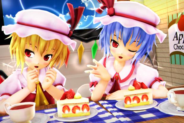 【レミフラ!】今日は可愛く ケーキタイム…♡