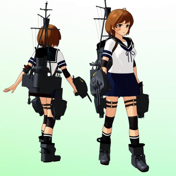 【MMDモデル更新】SSR式 朧改ver1.50