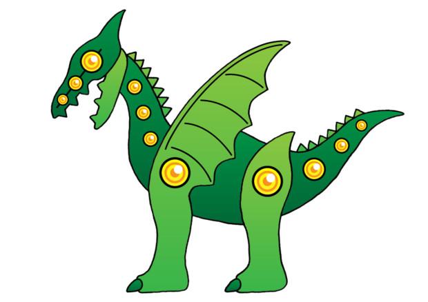 【オリセル】ドラゴン型セルリアン