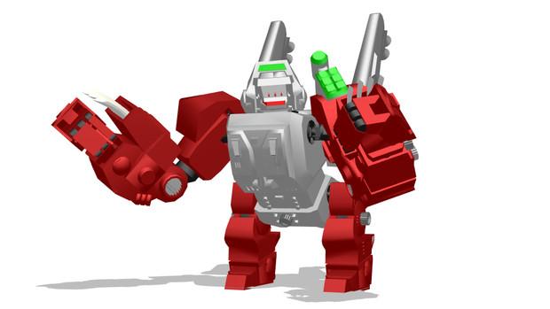 ハンマーロック高機動格闘型