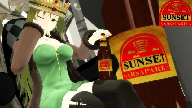 サンセット・サルサパリラ祭りだ!!女王謁見!!