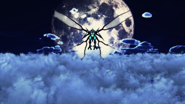 【#MMDセクシー静画祭】月夜の邪神