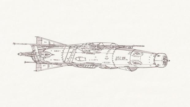空間艦上攻撃機ソードフィッシュ-Mk.Ⅲ「自作機」