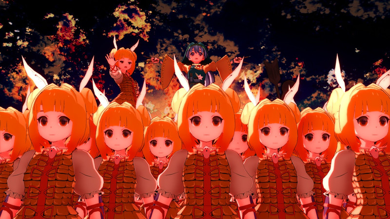 袿姫×磨弓×埴輪兵団