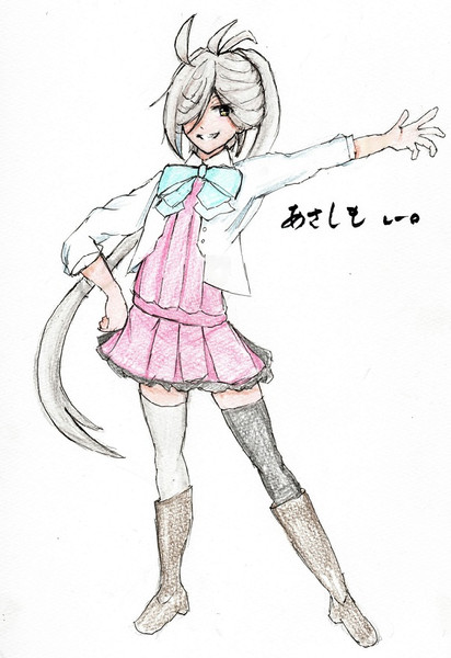 朝霜さんとお絵描き練習2