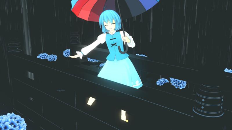 雨模様でも晴れ模様