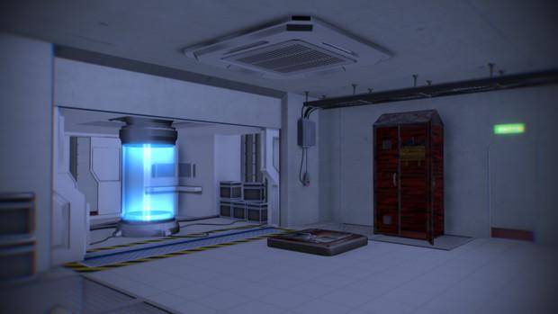 【MMD】研究所っぽいステージ配布