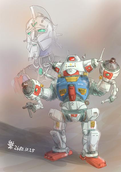 宇宙MS「陸戦型アシタノガンダム」