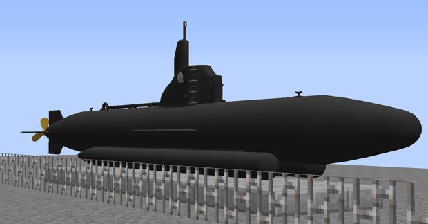 【配布】特殊潜航艇 海龍
