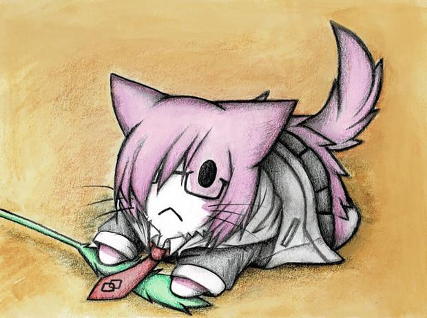 FGO:マシュ猫