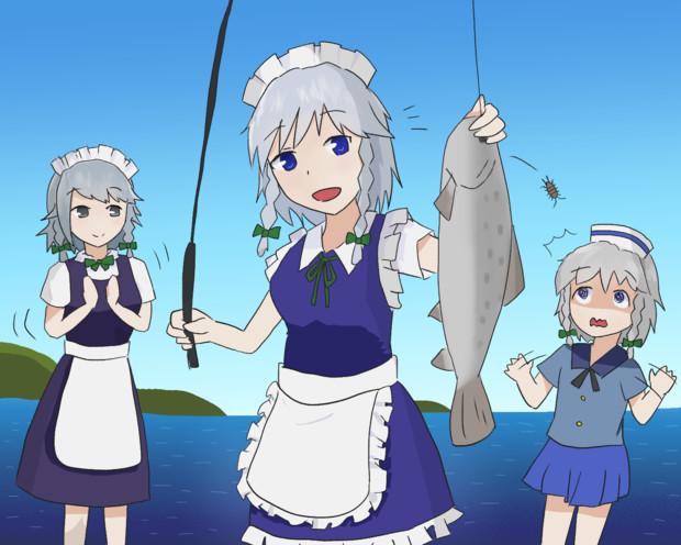 釣りキチおばさん