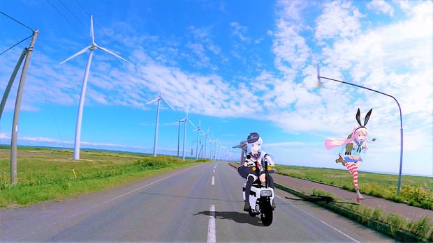 憧れの道を走れ!!