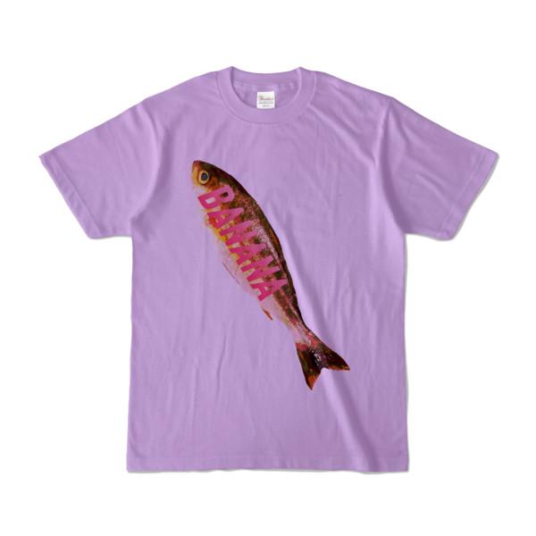 Tシャツ ライトパープル BANANA_SAKANA