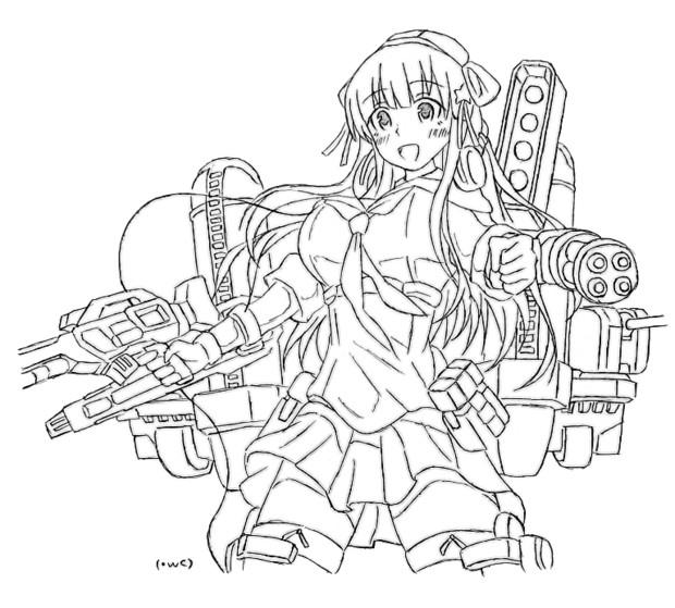 鋼鉄武装、フレッチャー!