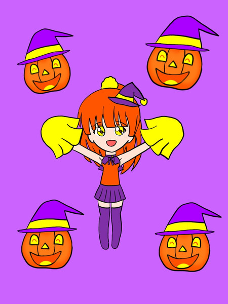 ハロウィンチアちゃん