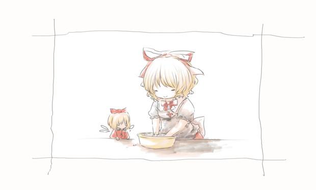 手を洗うメディさん