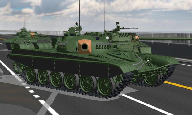 T-72M1【モデル配布】