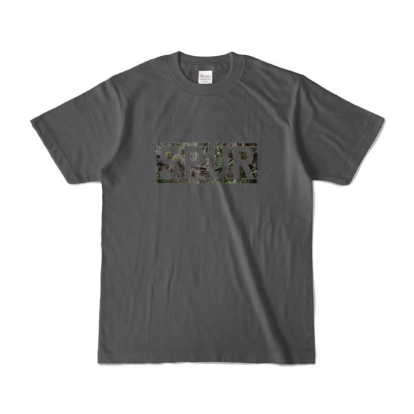 Tシャツ チャコール SPUR_Grove