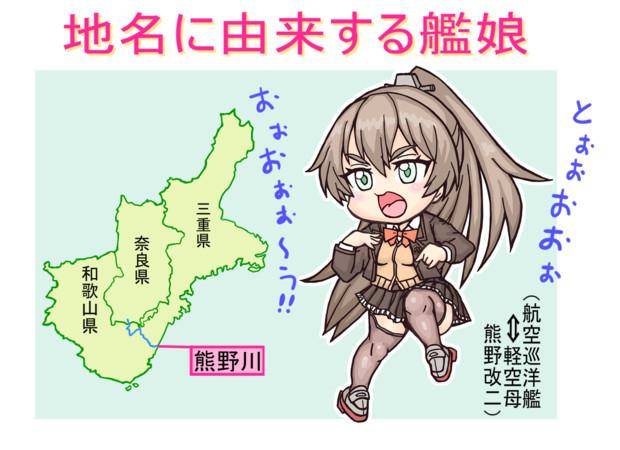 地名に由来する艦娘・熊野