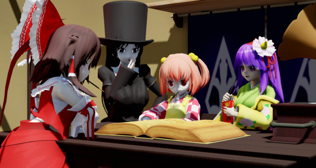 【ポッキーの日】ポッキーの日なので鈴奈庵でポッキーの歴史を調べてる4人