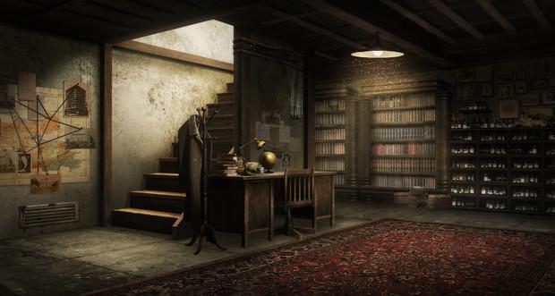 【TRPG】【フリー素材】地下室【ゲーム使用OK】【クトゥルフ神話】