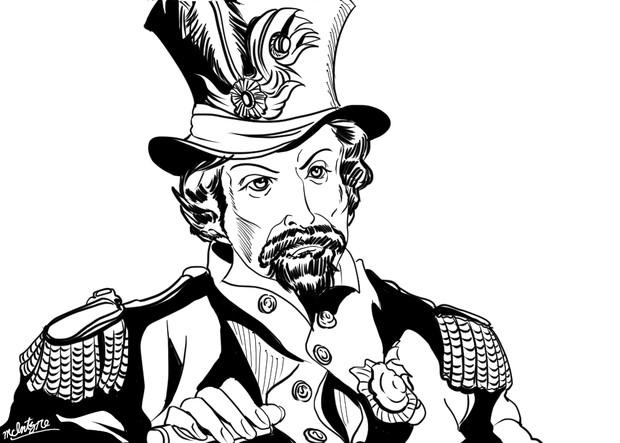合衆国皇帝並びにメキシコの庇護者(自称)~ジョシュア・ノートンⅠ世