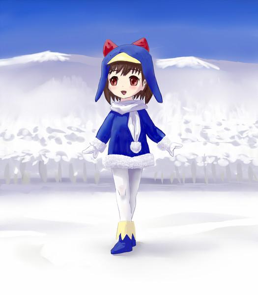 雪原のえここさん