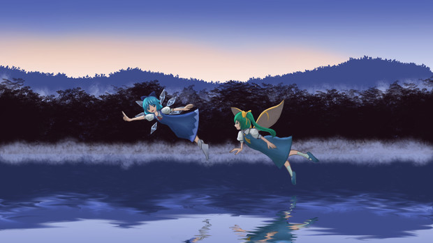 チルノと大妖精