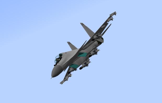 【配布】Su-30MKI 4種